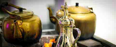 The art of making Arabic coffee